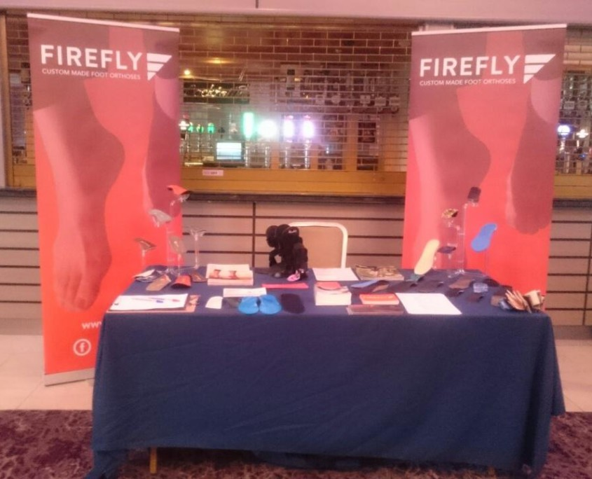 Firefly conference stand