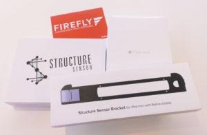 Firefly will give away iPad & Structure Sensor at this weeks conference